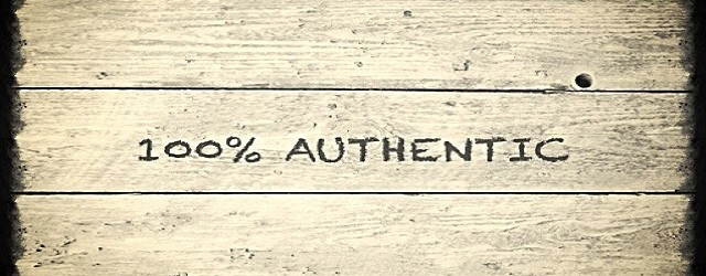 Being authentic isn't everything – or is it?