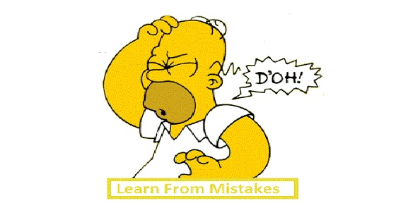 do we learn from our mistakes essay Free essay: learning from others mistakes growing up generally feels like a rollercoaster learning from my mistakes in clinical practice liberty university counseling 505 techniques and there are many things from which we can learn throughout our lives in particular, we can learn from.